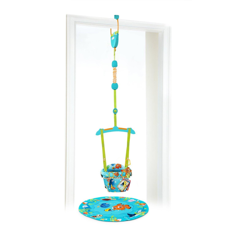 BRIGHT STARTS Hopsadlo do dveří Nemo 6m+,do 12kg