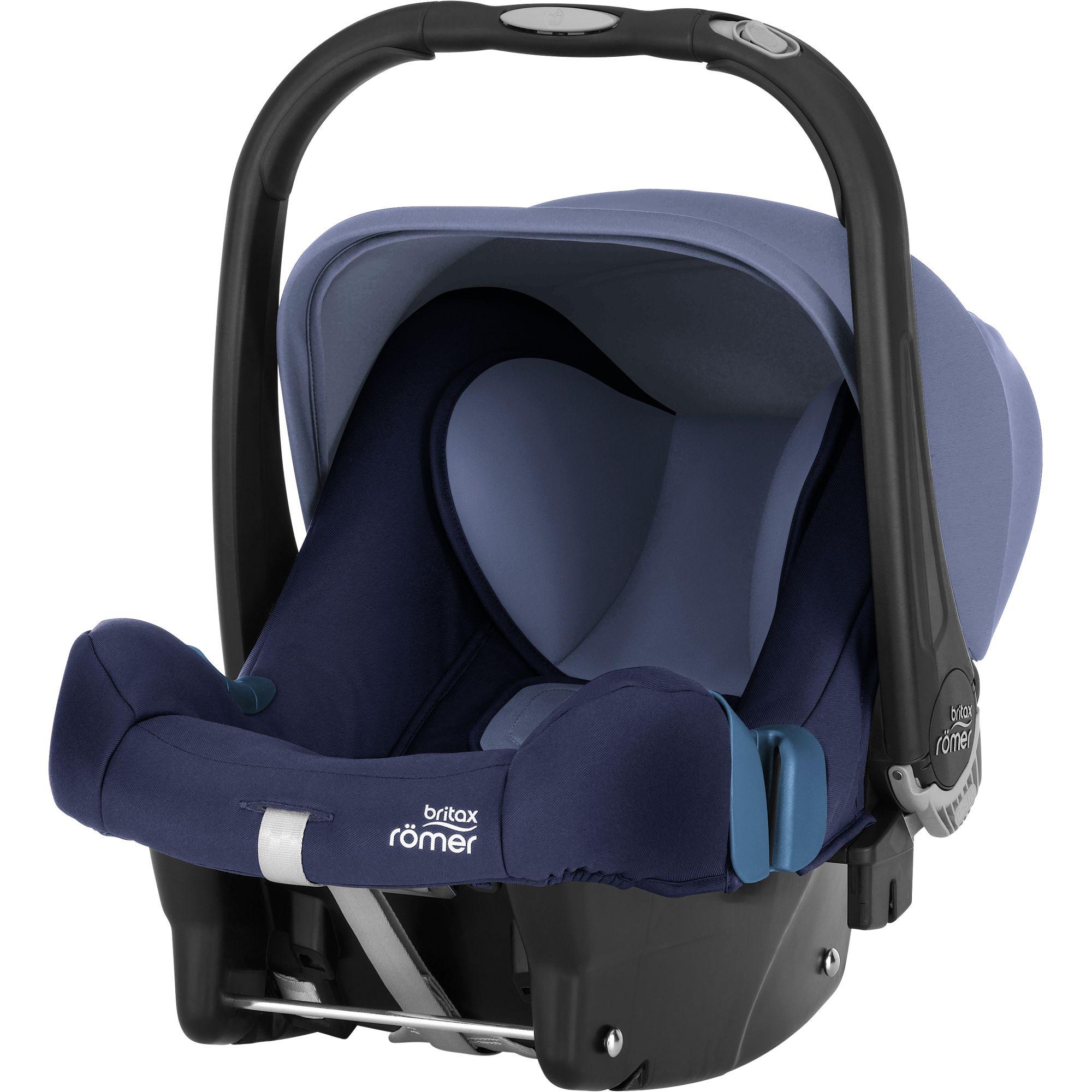 BRITAX RÖMER Autosedačka Baby-Safe Plus SHR II Moonlight Blue 2020