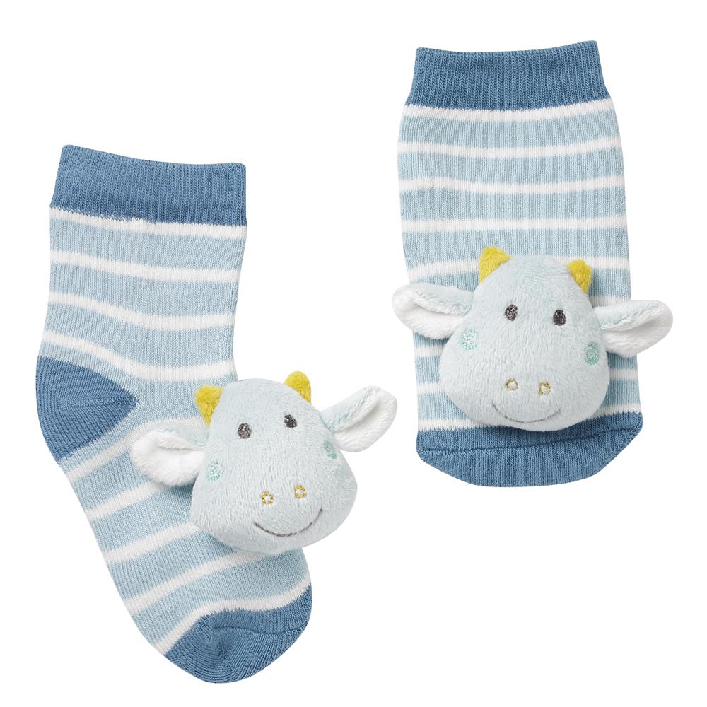 BABY FEHN Chrastící ponožky Little Castle