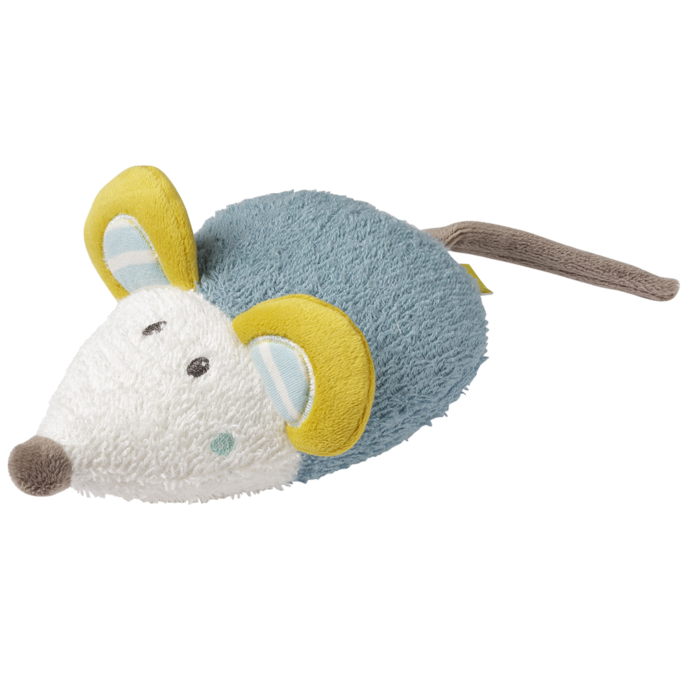 BABY FEHN Little Castle hračka do vany myš