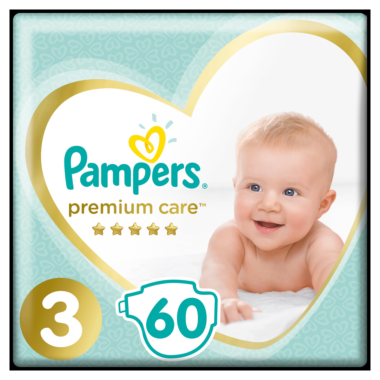 PAMPERS Plenky Premium Care 3 Midi 60ks Pampers