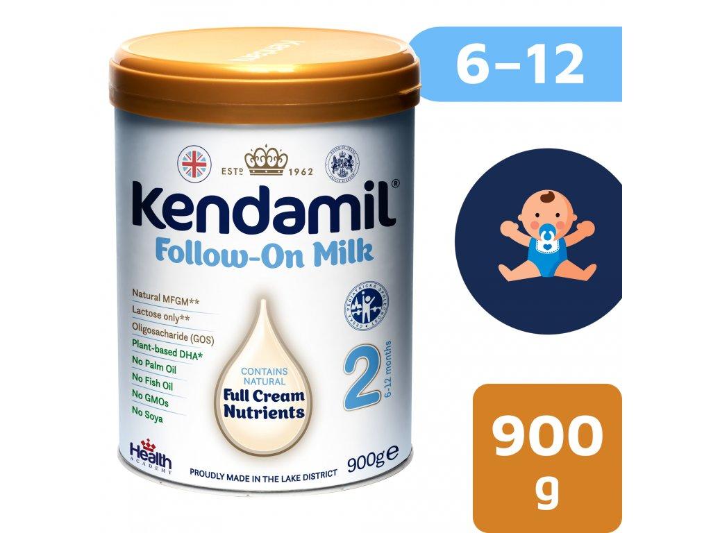 KENDAMIL Kendamil EU 2 pokračovací mléko NEW DHA+ 2