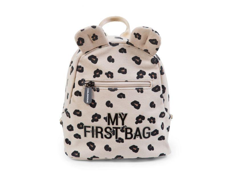 Levně CHILDHOME Dětský batoh My First Bag Leopard
