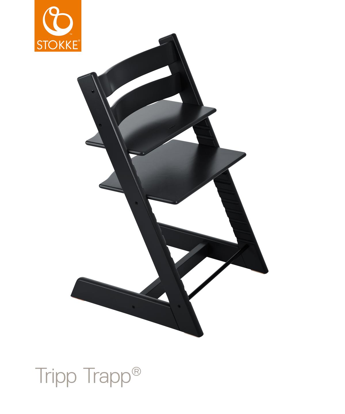 Stokke Tripp trapp černá