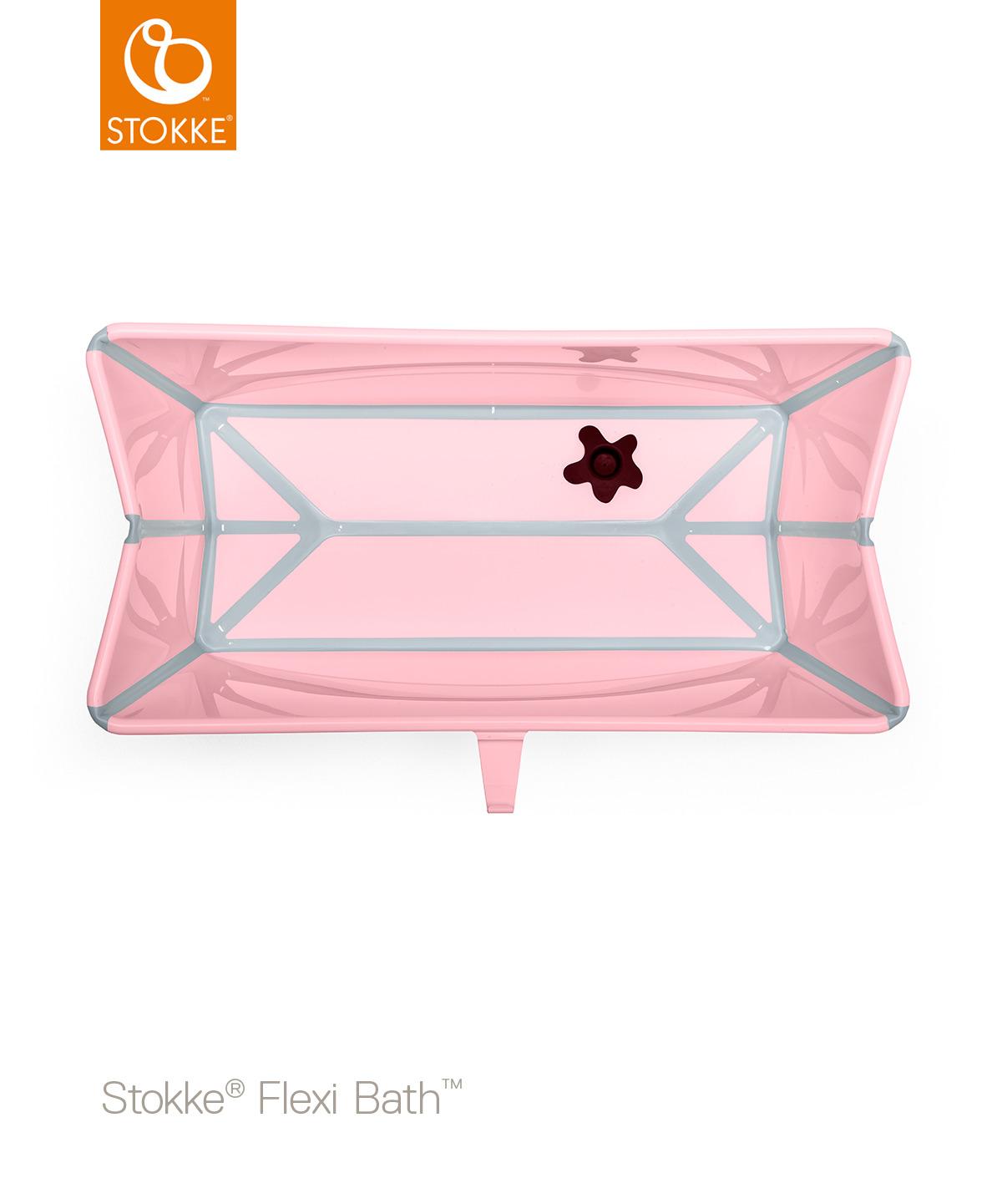 STOKKE Cestovní skládací vanička Pink