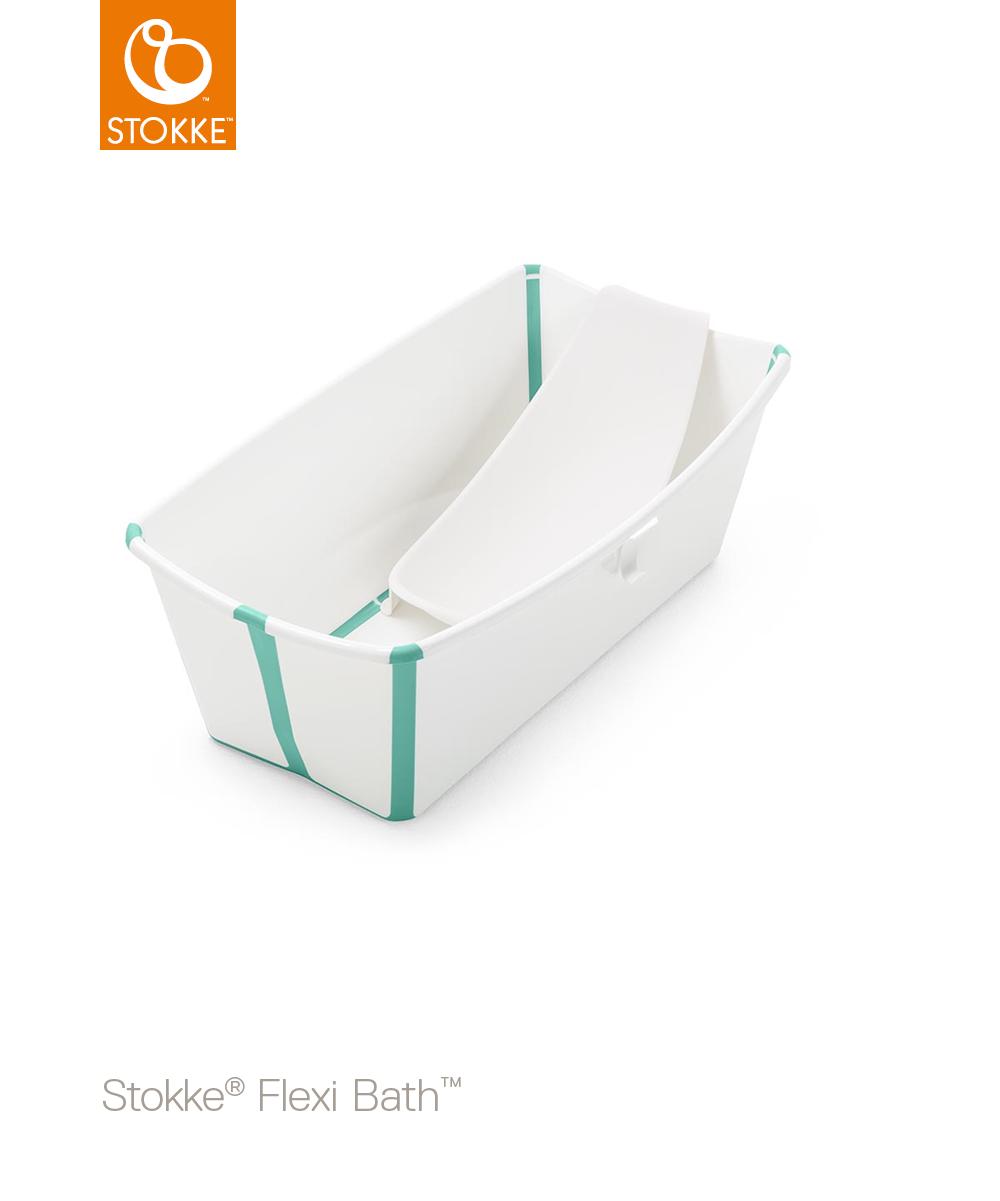 STOKKE Cestovní skládací vanička White Aqua