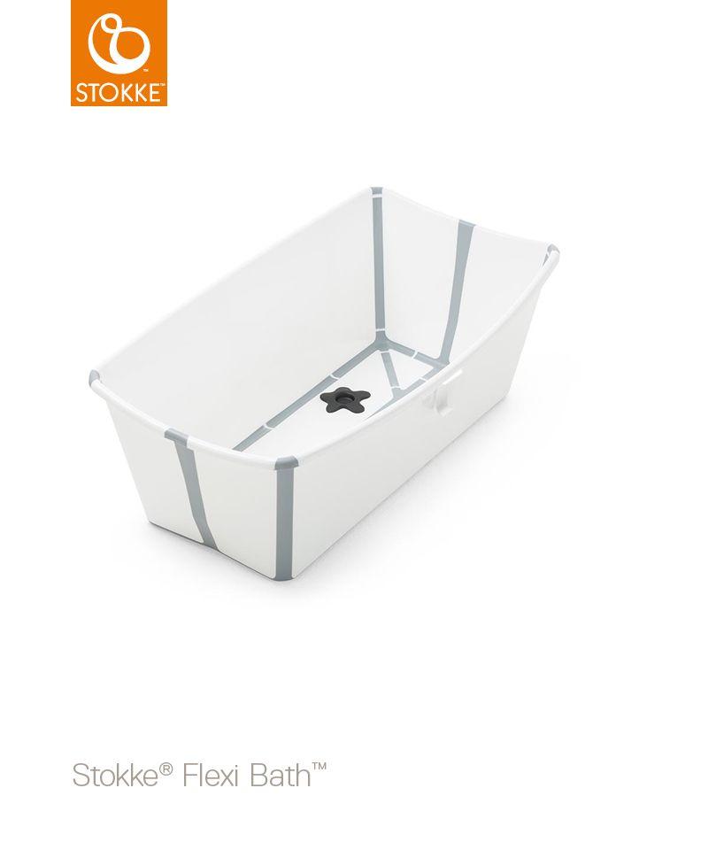STOKKE Cestovní skládací vanička Flexi Bath White