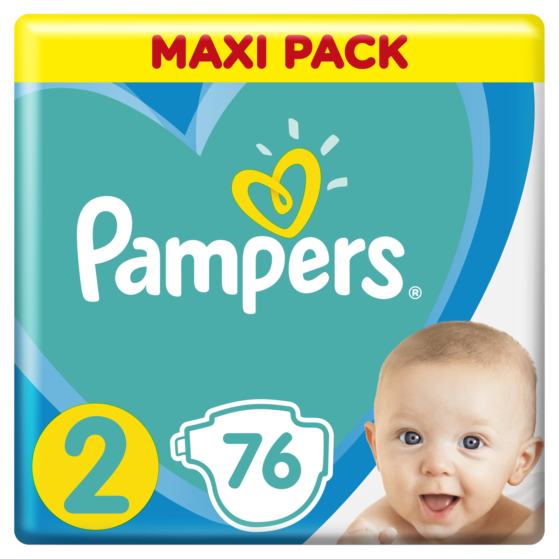 PAMPERS Plenky New Baby Dry 2 Maxi Pack 76ks