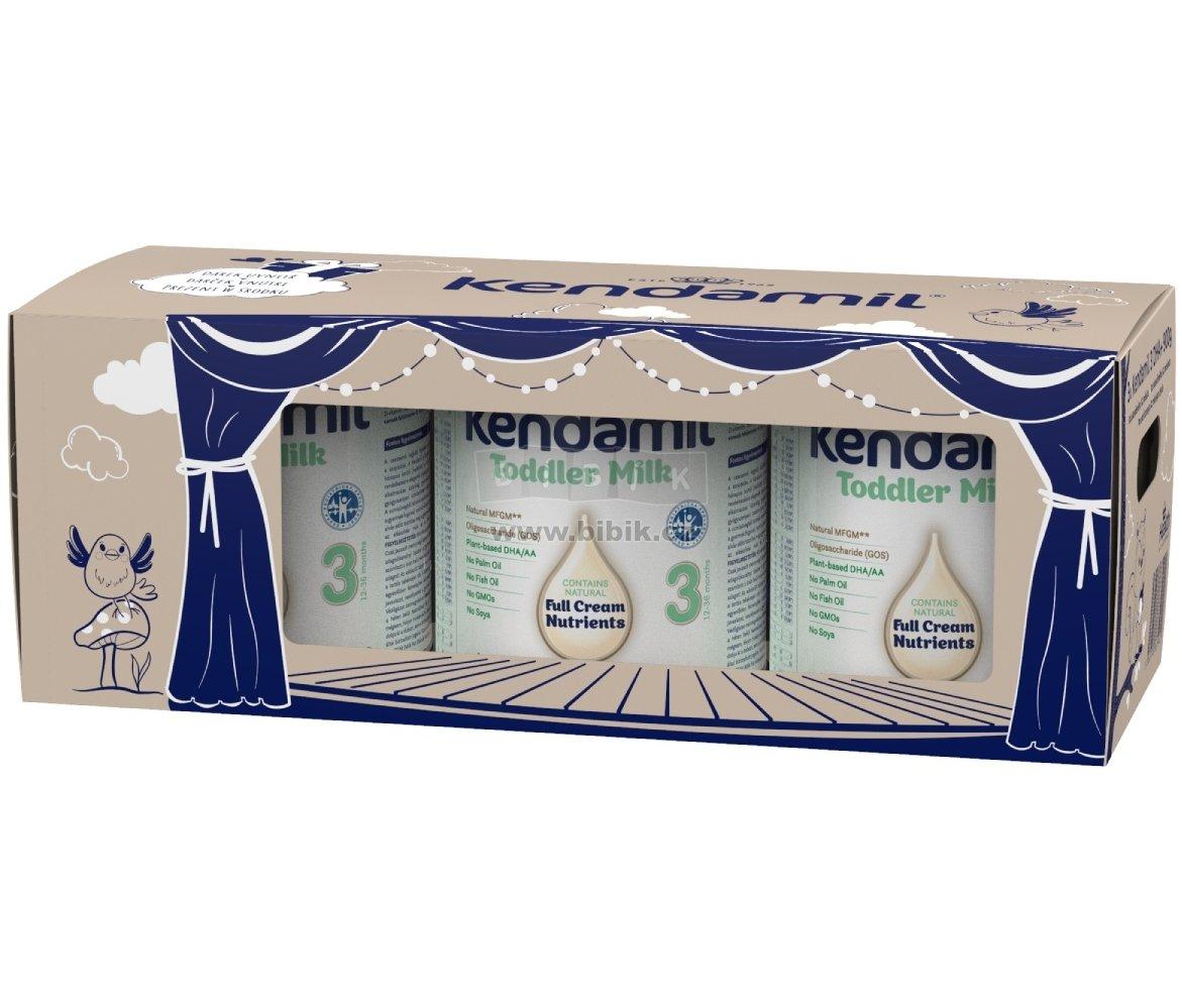 KENDAMIL Batolecí mléko 3 DHA+ pohádkové balení s dárkem a divadlem 3