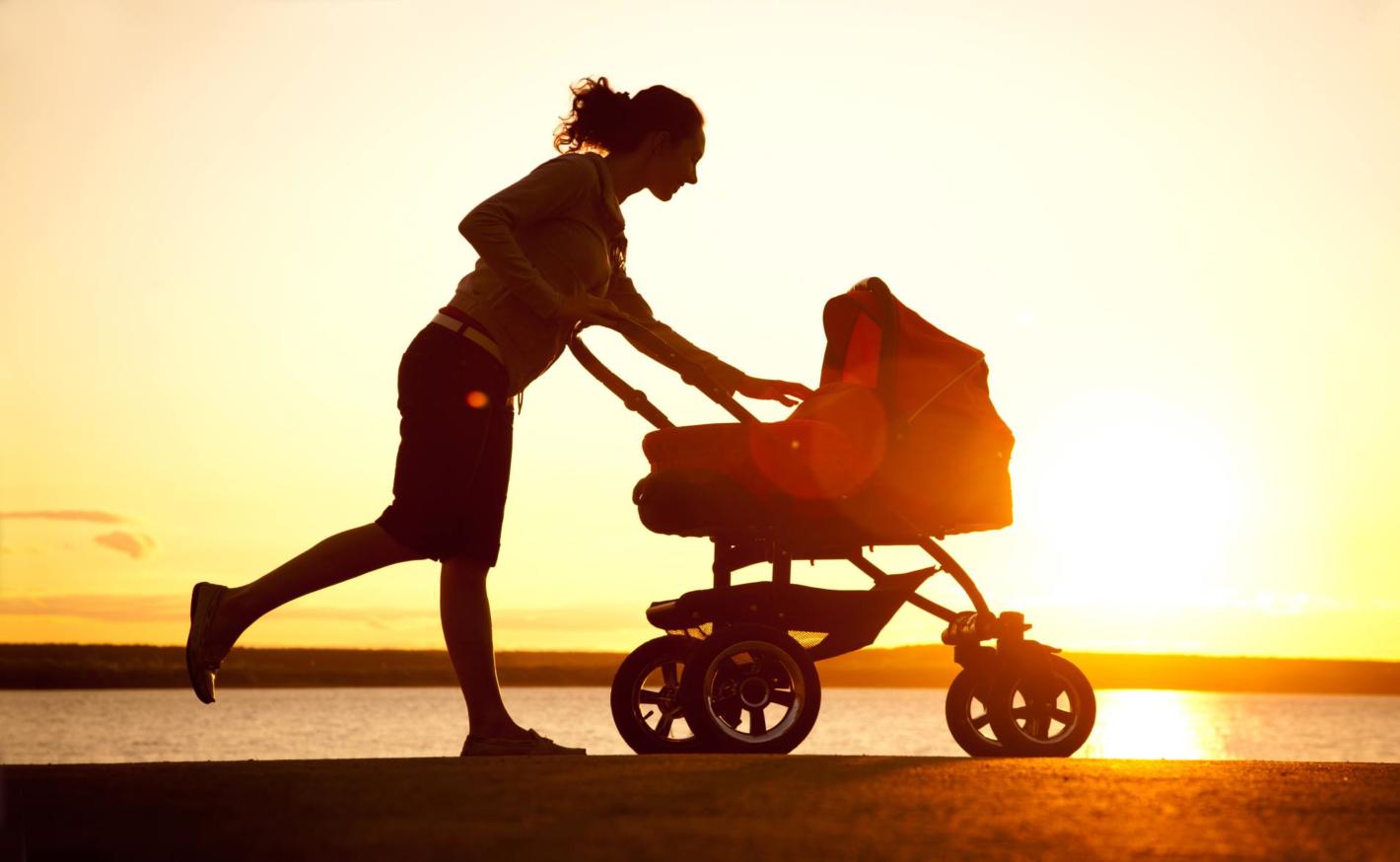 Jak shodit těhotenská kila aneb Sportování i s malým dítětem