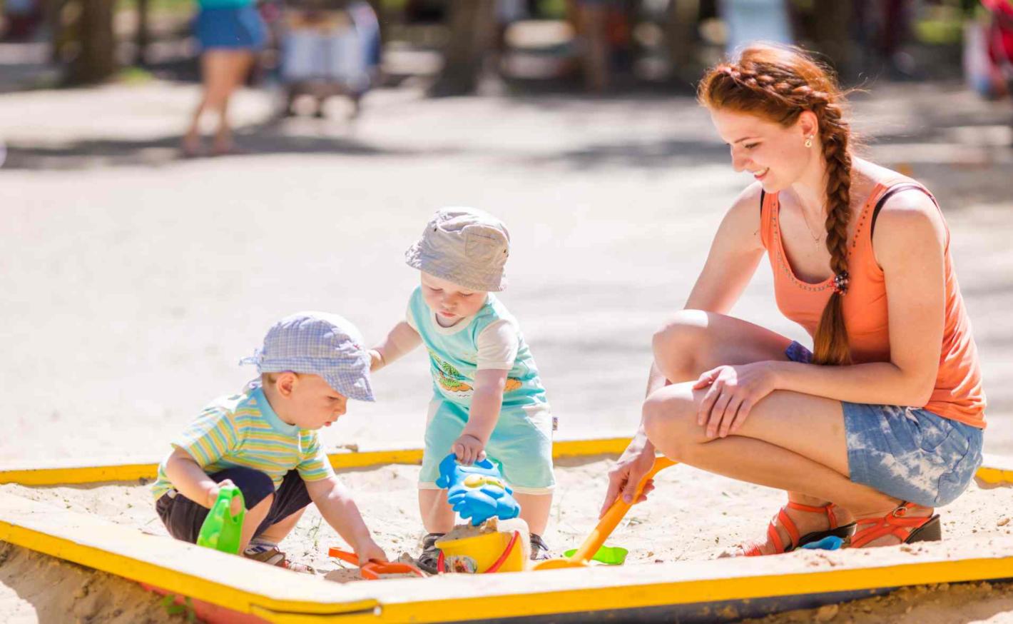 Jak vybrat hračky na pískoviště