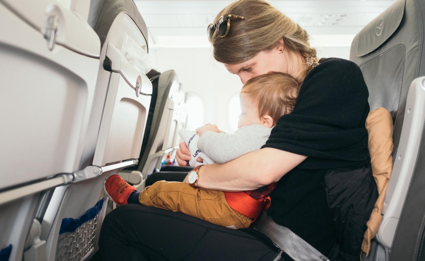 První cesta letadlem s dítětem