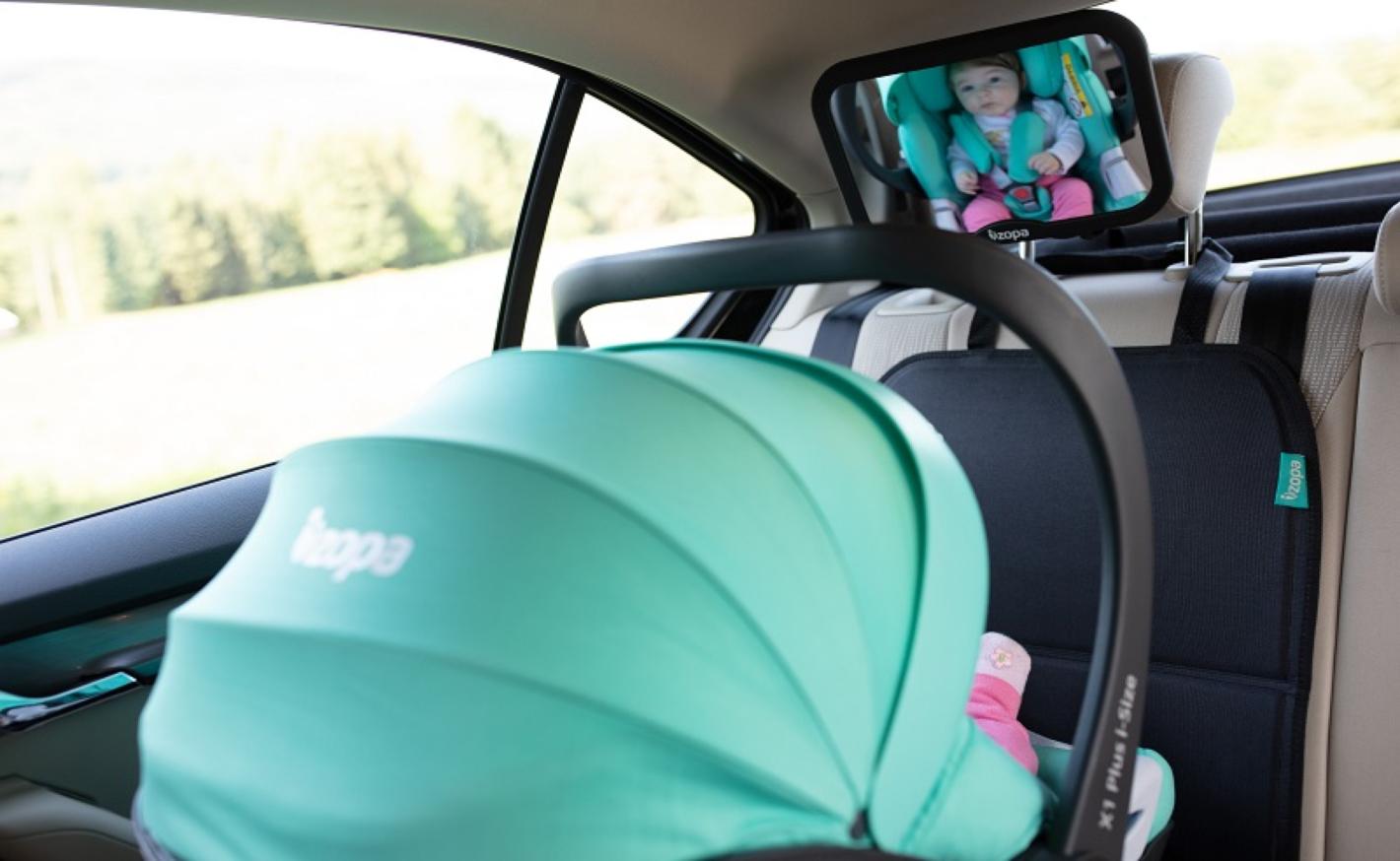 S dítětem v autě: Vychytávky, které zpříjemní cestu dětem i vám
